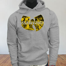 Rap Hip Hop Gza Rza ODB WU TANG CLAN COMICS Mens Gray Hoodie