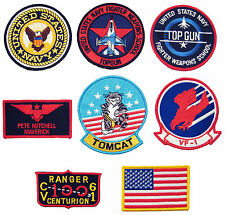 LARGE SIZE SCREEN ACCURATE TOP GUN 8 COSTUME PATCH SET movie fancy dress