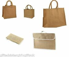 Wholesale Jute Hessian Small / Medium / Large / Pencil Case / Book Shopping Bags