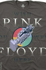 PINK FLOYD-WELCOME TO THE MACHINE-CHARCOAL TSHIRT M-L-XL-XXL NEW