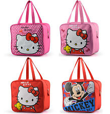Hello Kitty Kids Lunch Bag Lunch Box Carry Tote Picnic Travel Pouch Waterproof