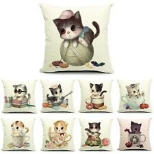 New Cute Animal Pillowslip Soft Comfortable Seat Cushion Cover Case Gift 45*45cm