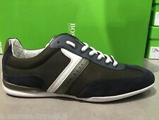 2015 HUGO BOSS Mens Shoes Sneakers Trainers Multi Spacito BOSS Green, New In Box