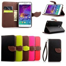 Luxury Fashion Leather Card Flip Wallet Case Stand Cover Pouch For Samsung Phone