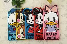 For HUAWEI Ascend P7 P8 6+ Disney Graffiti Minnie Mickey Cartoon Silicone Case