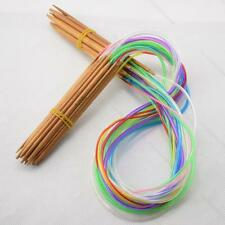 "40cm-120cm 16""-47"" 18 pairs Multicolor Tube #I Circular Bamboo Knitting Needles"