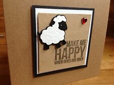 "handmade birthday/blank card ""love ewe to the moon"" hubby, wife, girl/boyfriend"