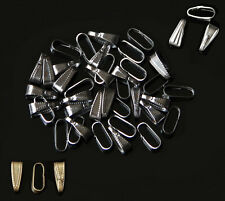 Lots 100Pcs Metal Buckle Connector Bails Jewelry Findings