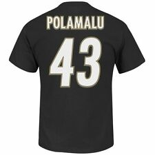 Pittsburgh Steelers Troy Polamalu NFL Eligible Receiver Name/Number T-Shirt