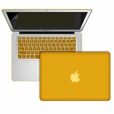 Smart Rubber Coat  Case Cover Keyboard Skin for MacBook air 13 11 15 pro Apple