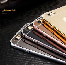 """Luxury Metal Aluminum Frame Ultra-thin Mirror Back Case Cover For iPhone 6 4.7"""""""