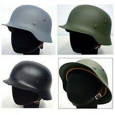 Steel Helmet WW2 M35 Steel German Stahlhelm 35 Collectable Military Fancy Dress