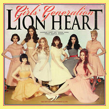 GIRL'S GENERATION SNSD - LION HEART (5th ALBUM) CD+Booklet+PhotoCard+Poster,Kpop