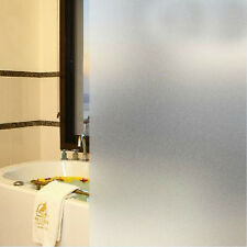 Glass Film Waterproof 45cm or 60cm Width PVC 1M Frosted Privacy Bathroom