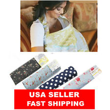 baby Breastfeeding Nursing Cover Blanket Breathable Cotton Cover Up Mum Ponch