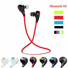 Stereo Wireless Bluetooth Headset Sport Earphone Headphone for iPhone Samsung LG