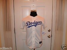 Brand New with Tags White Youth Los Angeles Dodgers Majestic (All Sizes) Jersey