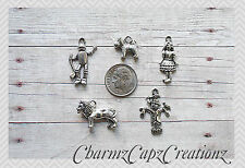 MINI Charm Set / 5 pcs / Wizard of Oz Inspired / Set Lot Collection / Set #1