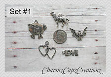 MINI Charm Set / 5 Pieces / Twilight Inspired / Lot Collection / Choose Set