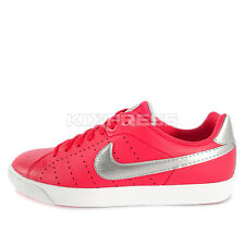 Nike WMNS Court Tour Skinny LTHR [532364-608] NSW Casual Red/Silver-Pink