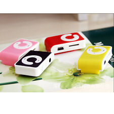 5Colors Mini Clip USB MP3 Player Support 1-16GB Micro SD TF Memory Card Cool Hot