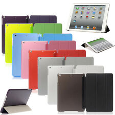 New Ultra Thin Magnetic Smart Case Slim Back Cover For Apple iPad 2 3 4 5 6 Mini
