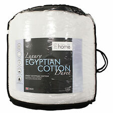 Catherine Lansfield  Luxury Egyptian Cotton Duvet Quilt 4.5 10.5 13.5 15 TOG