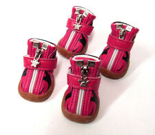 Dog Shoes PINK-BLACK shoes for dogs ,Hundeschuh Size 2,3,4