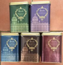 Harrods 50 Teabags or Loose Leaf in Signature Harrods Building Sealed Tin 125g