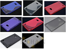 Multi Color S-Types TPU Gel CASE Cover For Nokia Lumia 710