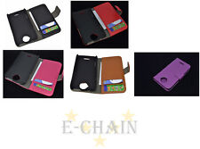 Multi Color Leather Cover Flip Case HOLDER WALLET For HTC One X S720e G23