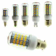 7W 12W 15W 18W 22W 28W E12 E26 E14 E27 G9 B22 5730 SMD LED Corn Light Bulb Lamp