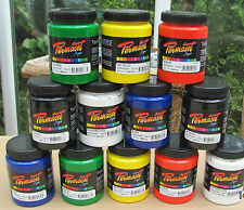 Permaset Aqua Screen / Textile Printing Ink for 300ml tubs. Various colours.