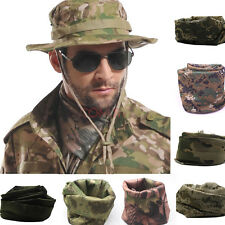 Camouflage Scarf Veil Sniper Cover Mesh Airsoft Tactical Army Neckerchief Warm