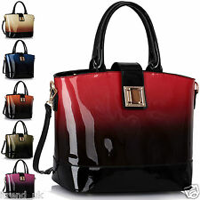 Ladies Handbags Womens Shoulder Bags New Faux Leather Celebrity Style Designer