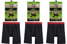 NEW RUSSELL SPORT PERFORMANCE MEN'S 1 OR 3 PACK  BOXER BRIEFS S-2X SPANDEX!!