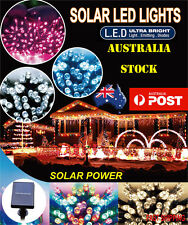 200LED 20.9M MULTI/WHITE/PINK/WARM WHITE/BLUE SOLAR CHRISTMAS PARTY FAIRY LIGHTS