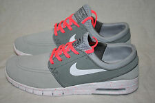 NIKE STEFAN JANOSKI MAX L SB WOLF GREY WHITE HOT LAVA SUEDE RUNNER 8 TO 12