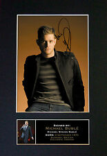 MICHAEL BUBLE Signed Mounted Autograph Photo Print (A4) No86
