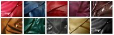 FABULOUS GLOSSY WAXY COWHIDE FOR UPHOLSTERY, BAGS, BELTS. BARKERS HIDE & LEATHER