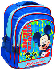 NEW LARGE BACKPACK MICKEY MOUSE SCHOOL BAG CHRISTMAS GIFT PRESCHOOL DAYCARE TOY