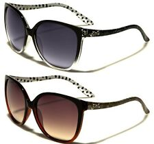 New Fashion Womens Ladies Girls Giselle Oval Black Sunglasses FREE POUCH 22065