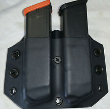 Glock 9mm/40 Kydex Custom Magazine Pouch Black, ODGreen or Coyote Custom Built