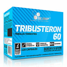 Tribusteron 60 15-330 Caps. Natural Testosterone Support Pro Muscle Growth Gain