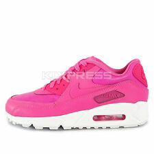 Nike Air Max 90 LTR GS [724852-600] NSW Running Pink/White