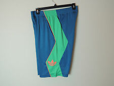 New Adidas Men's Originals Gym Basketball Trefoil OG Hoop Shorts Blue SZ L XL