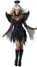 Halloween Fallen Angel Costume Girsl Party Dress Up Bud Devil Cosplay Fancy Dres