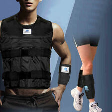 Zooboo Adjustable Exercise Weighted Vest+Leg Ankle+Hands Wrist Training (Empty)