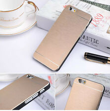 Brushed Metal Motomo Hard Back Skin Case Cover For Apple iPhone 15.2-11.9cm inch