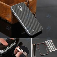 Luxury Aluminum Carbon Fiber Material Cover Case For Samsung Galaxy S 4 IV i9500